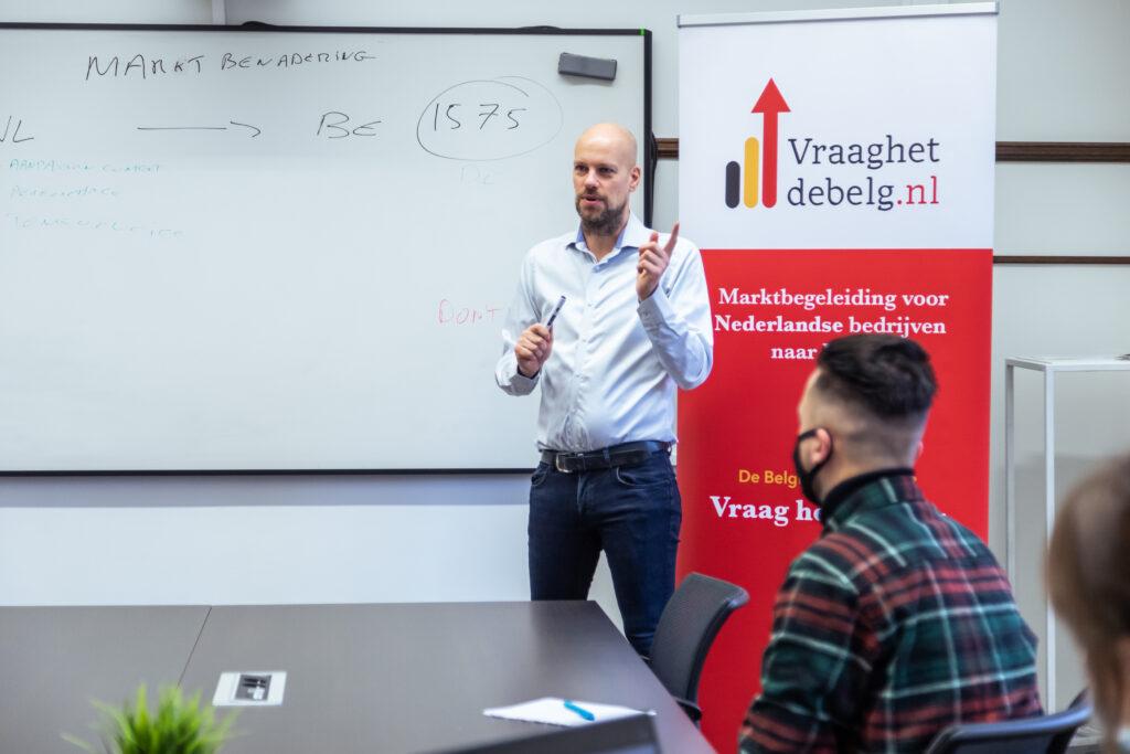Marktbegeleiding voor Nederlandse bedrijven naar België